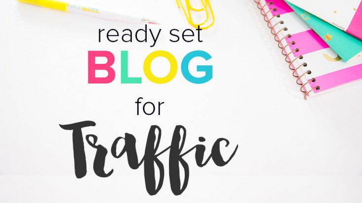 Ready Set Blog for Traffic - Twins Mommy