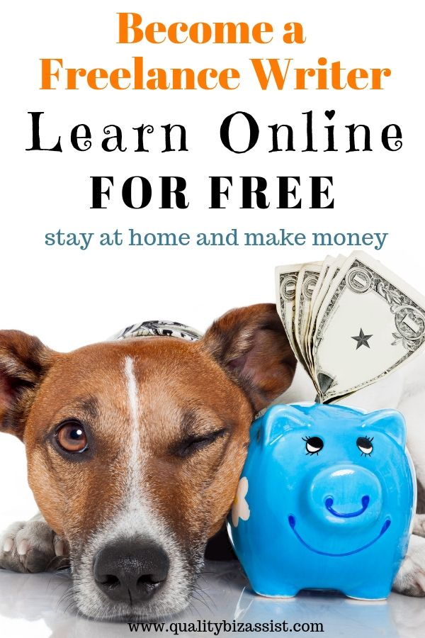 Learn to become a freelance writer online for free. Learn to blog online for free.