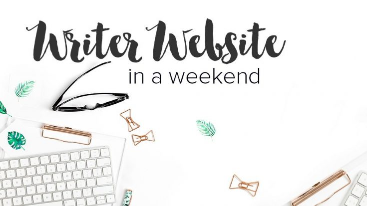 Writer Website in a Weekend