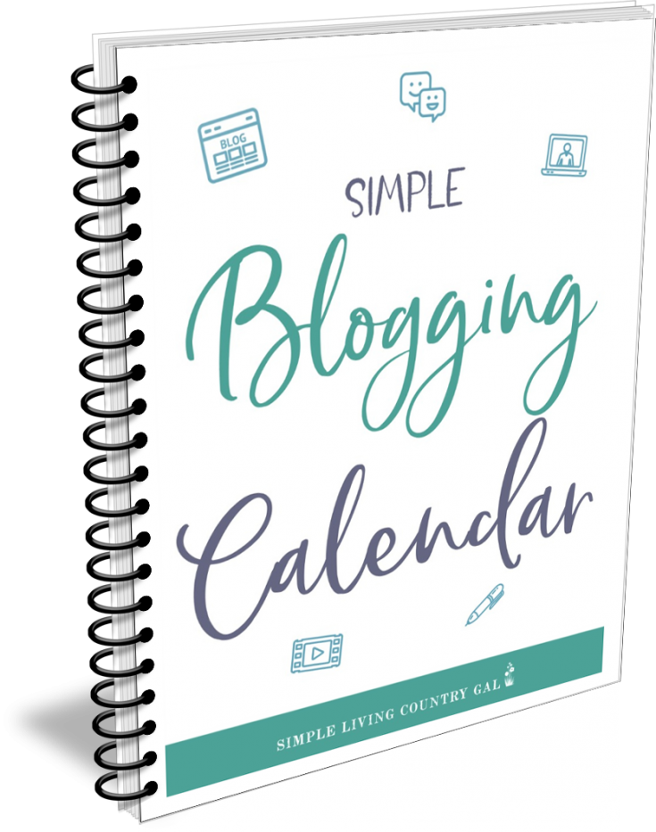 The Simple Blogging Calendar