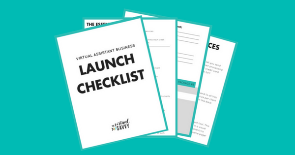 Virtual Assistant Checklist and Starter Kit