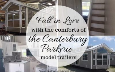 Fall in Love With the Comfortsof the Canterbury Parkvue Model Trailers