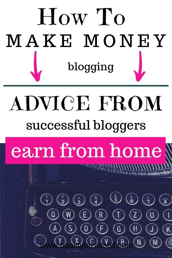 How to make money blogging with Debbie Gartner